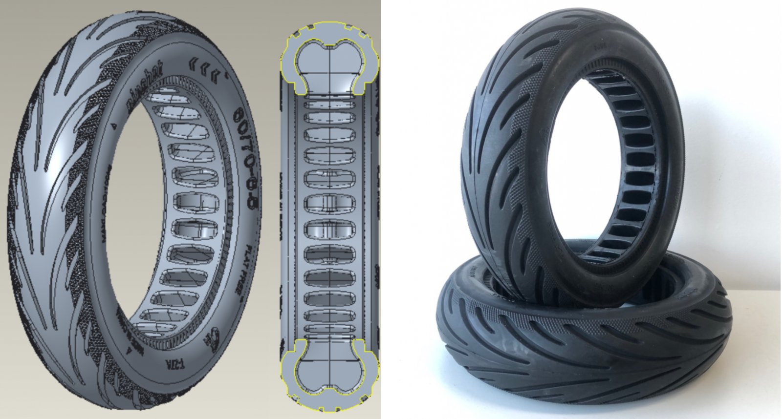 Introducing the Latest Segway Solid Honeycomb Tire