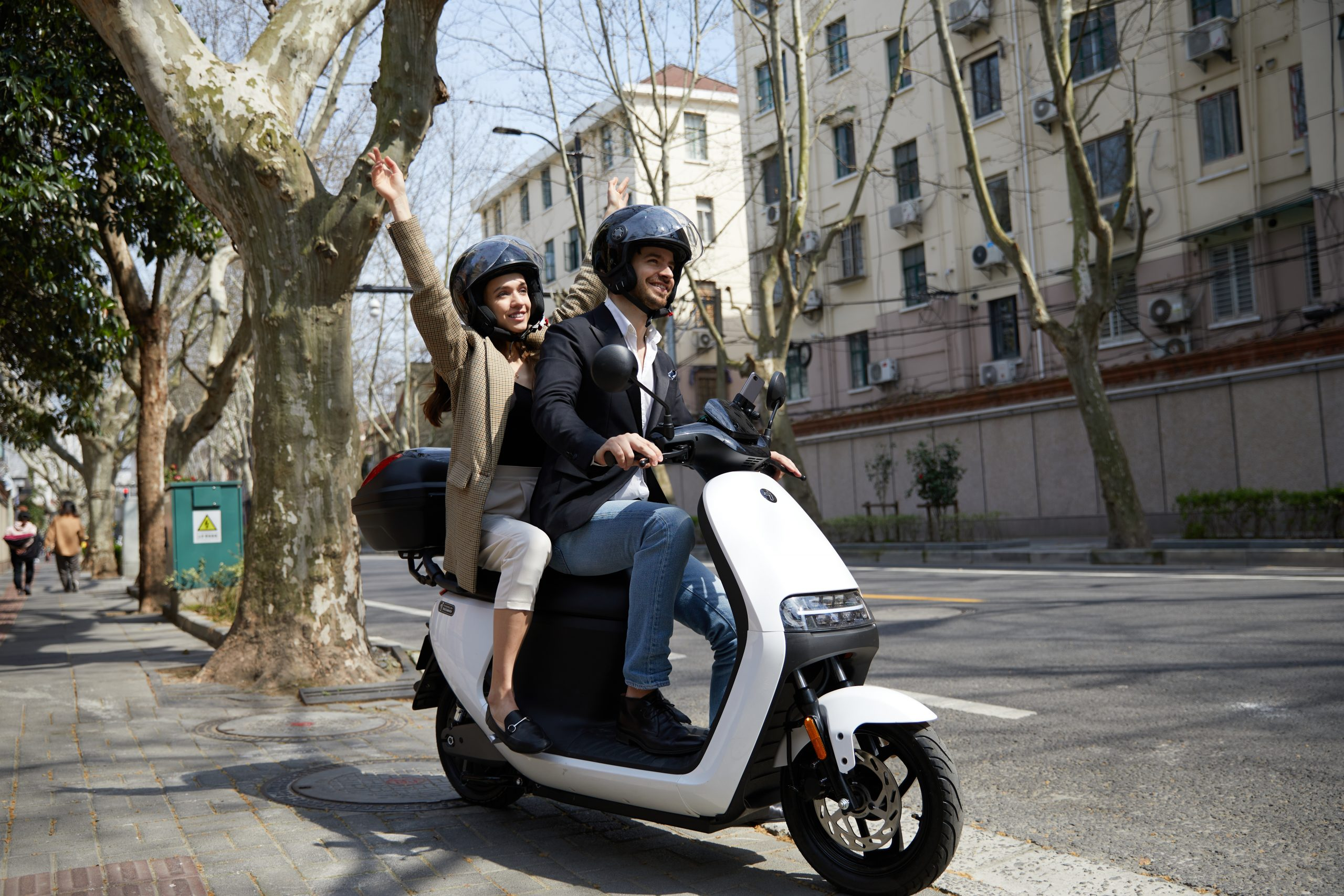 Elevating Urban Mobility and Beyond with the Segway E110L Shared E-moped