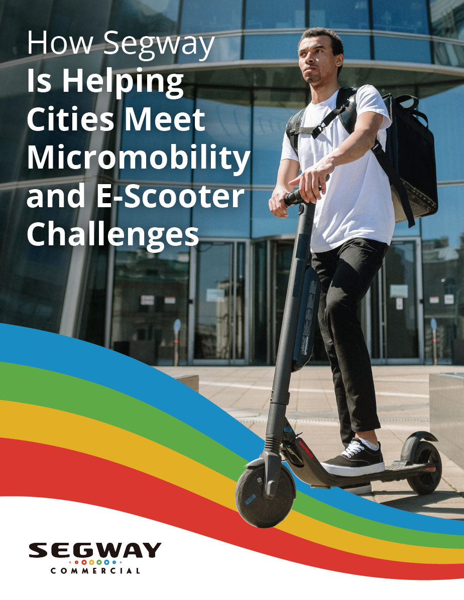 Download White Paper How Segway Is Helping Cities Meet Micromobility and E-Scooter Challenges