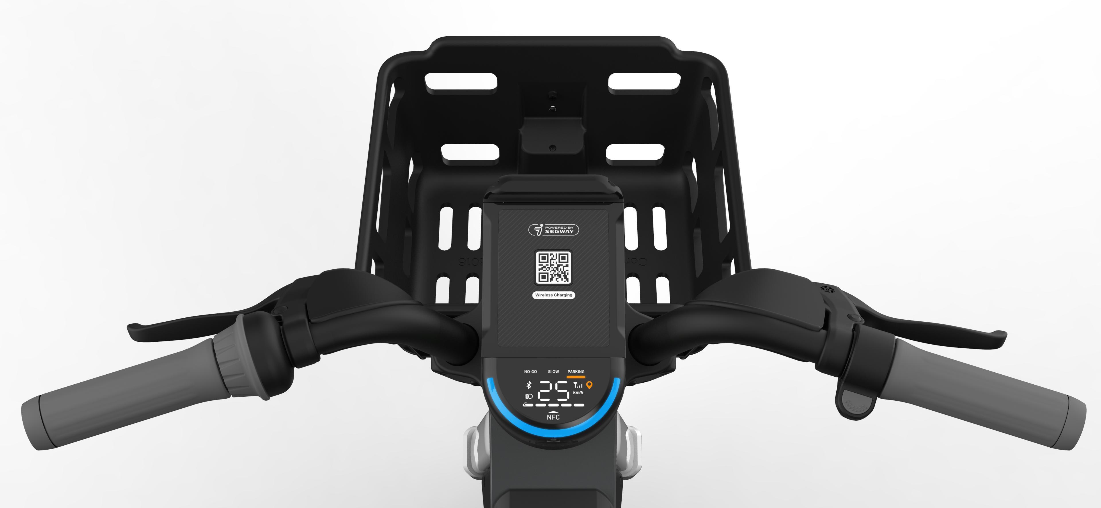 Segway e-bike smart dashboard