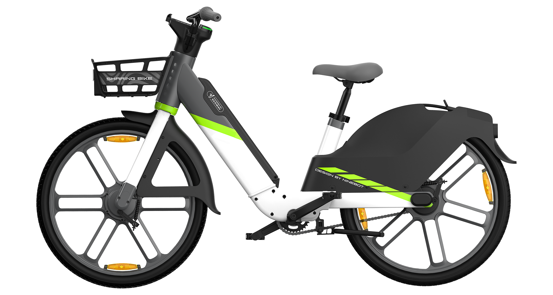 360° view of segway e-bike