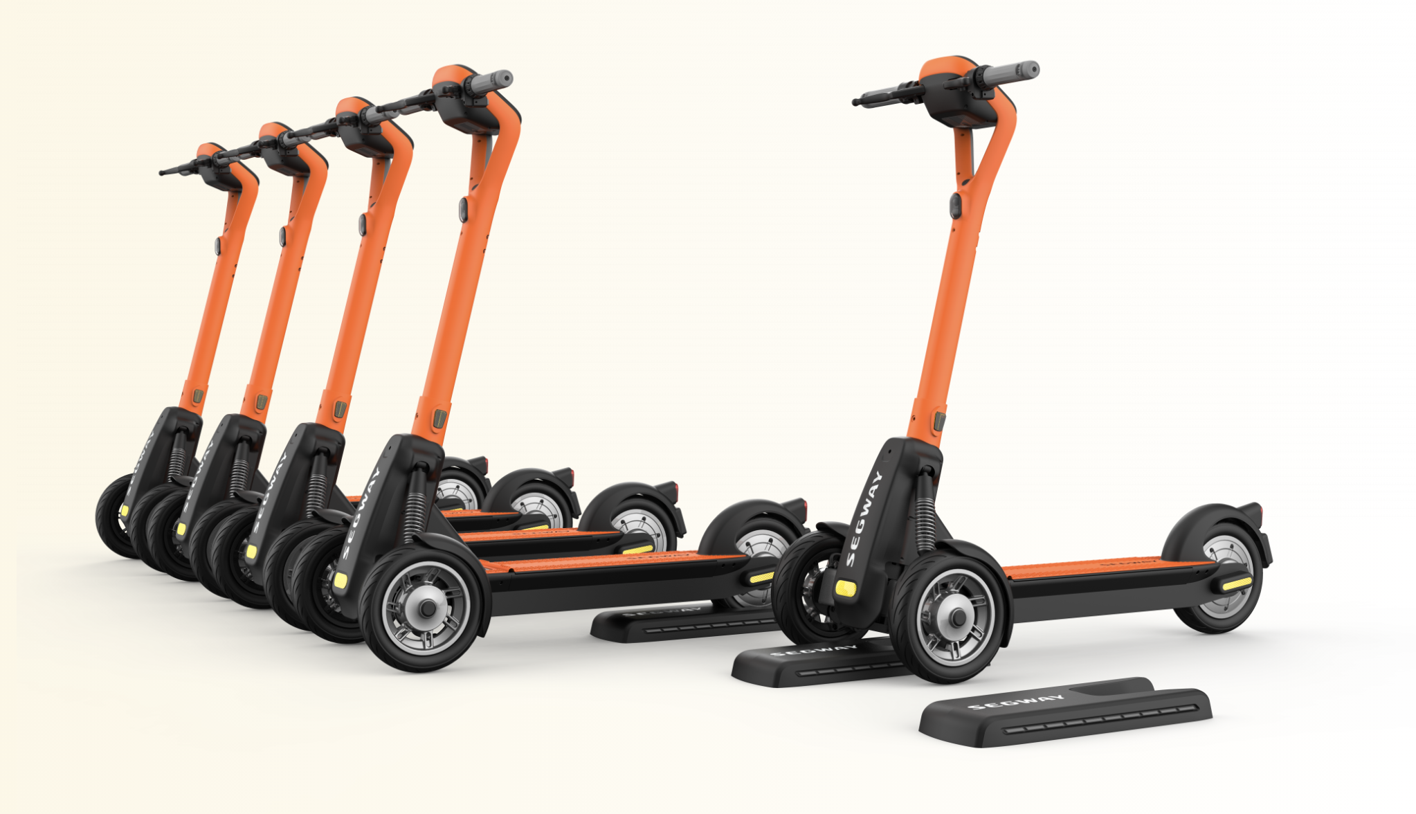 Segway Commercial Brings Full Line of Shared Vehicles to MMA 2021